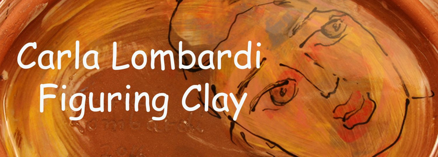Carla Lombardi sculptures and paintings  in clay in West Chester PA